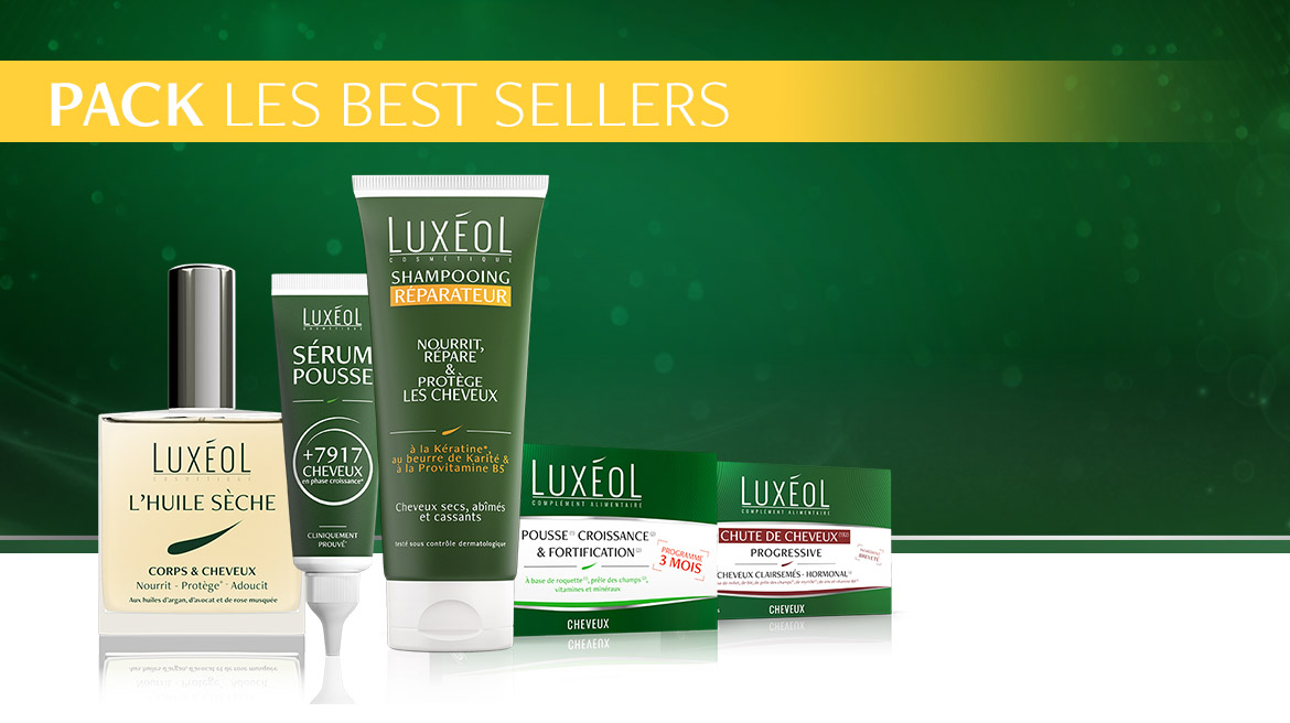 Luxéol Pack Les best sellers