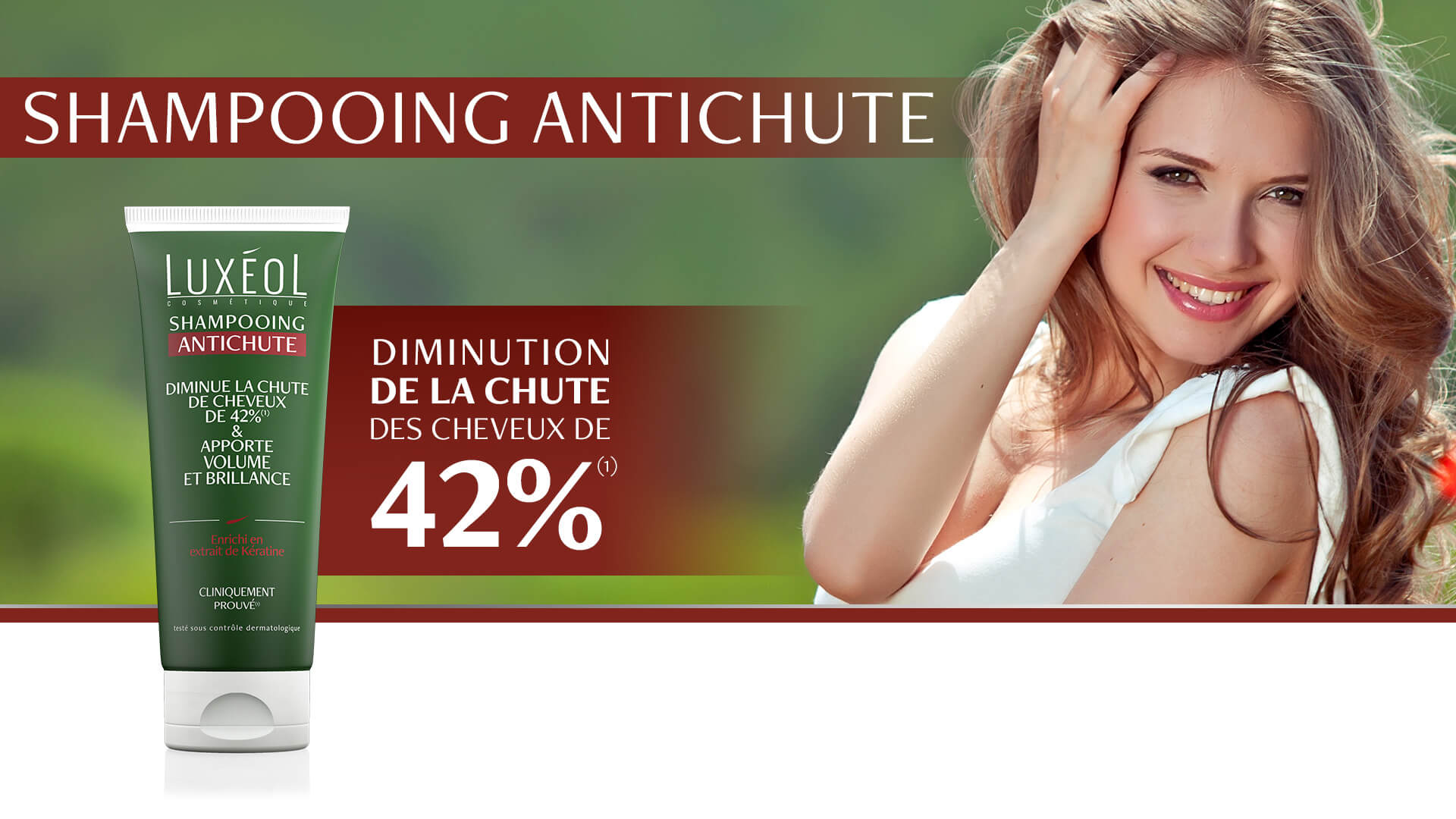 Luxéol Shampooing Antichute