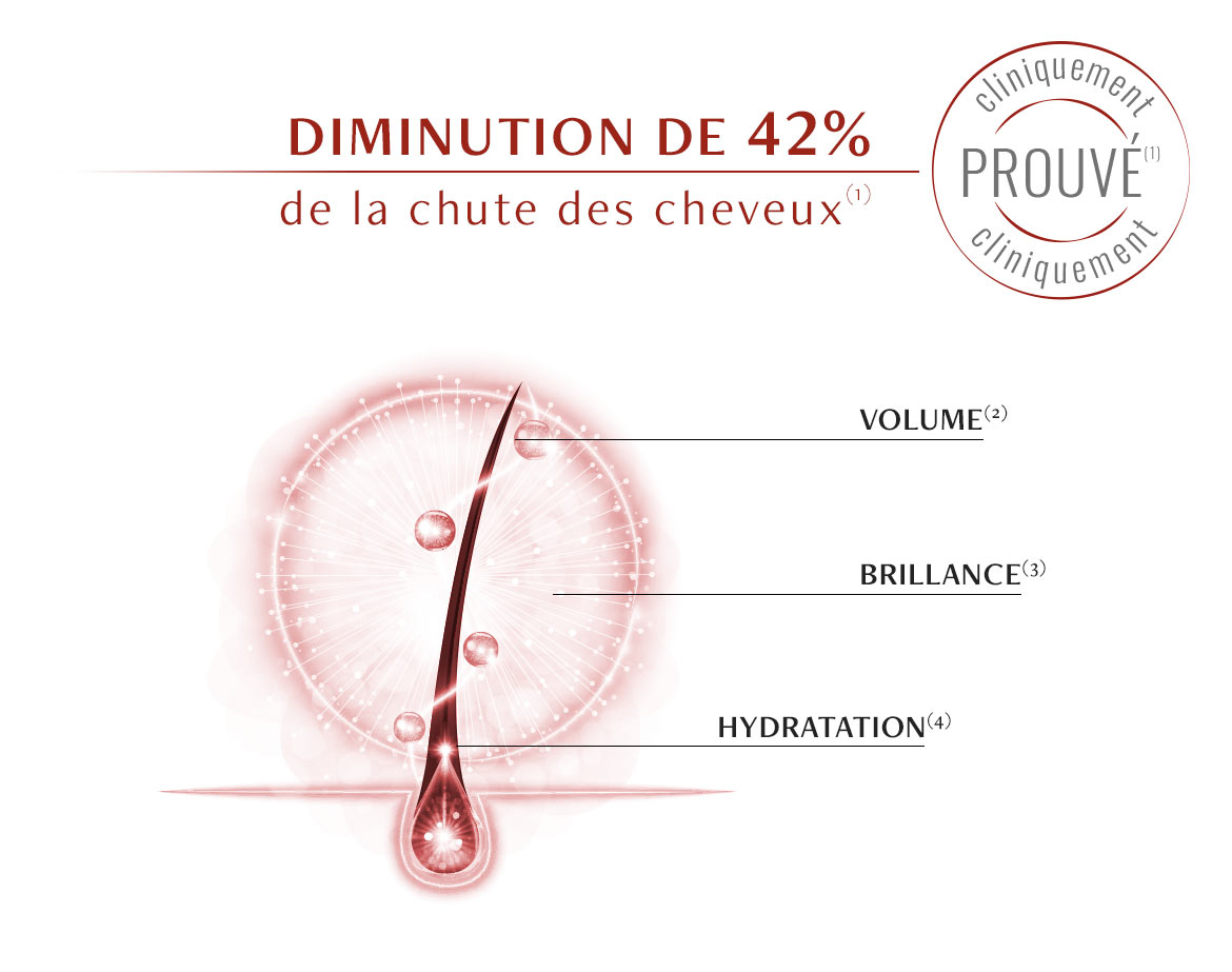 Actions du Shampooing Antichute Luxéol