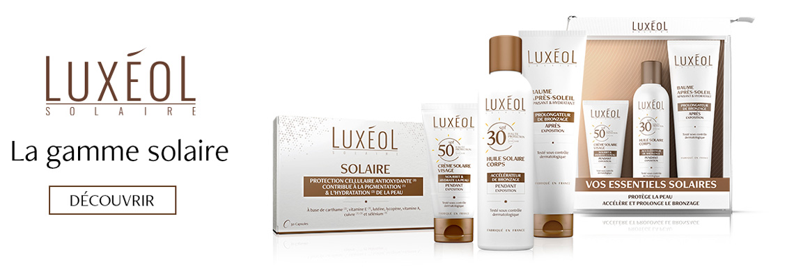 Gamme solaire Luxéol